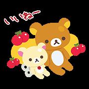 【無料スタンプ】LINEポコポコ×リラックマ