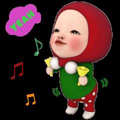【冬#1】レッドタオルの【クリスマス】