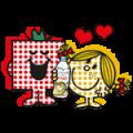 【無料スタンプ】エビアン × ミスターメン リトルミス