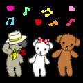【無料スタンプ】動く☆ワンケルくんと楽しい仲間たち