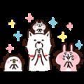 【無料スタンプ】白戸家のお父さん×カナヘイ コラボ第2弾
