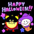【無料スタンプ】ころりん★ハロウィンキャラクタースタンプ