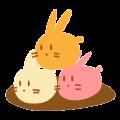 【LINEスタンプ】秋です【満月ポン】キャラクターポンちゃん