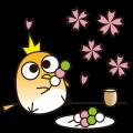 【LINEスタンプ】コトリと四季