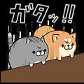 【無料スタンプ】LINE LIVE×ボンレス犬&猫コラボ