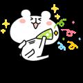 【無料スタンプ】LINE STORE×ゆるくまスタンプ