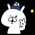 【無料スタンプ】ライトオン×ゆるうさぎコラボスタンプ