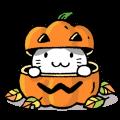 【LINEスタンプ】かぼちゃパンツの猫さん