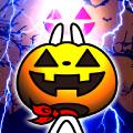 【無料スタンプ】秋だ!ウサギ魂がカボチャに変身!