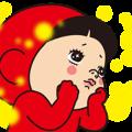 【LINEスタンプ】黄色いヤツ、もうすぐクリスマス