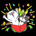 【無料スタンプ】タマ川 ヨシ子(猫)が飛び出す第11弾!