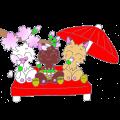 【LINEスタンプ】パンク猫6~ポカポカ過ごします~